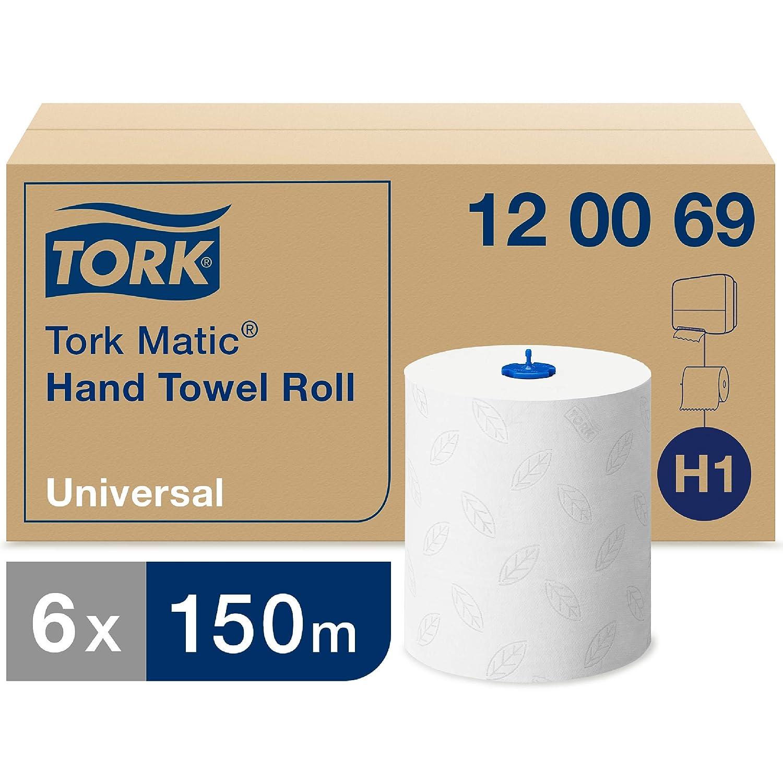 Tork 551000 Serviette Rouleau Distributeur Blanc