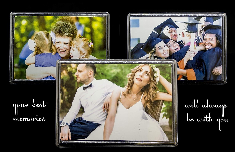 Imanes de fotos de acrílico NSD5 de 110 x 80 mm, juego 3 en 1 de ...