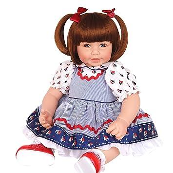 Amazon.com: Muñeca de bebé Pursebuby con cuerpo floppy suave ...