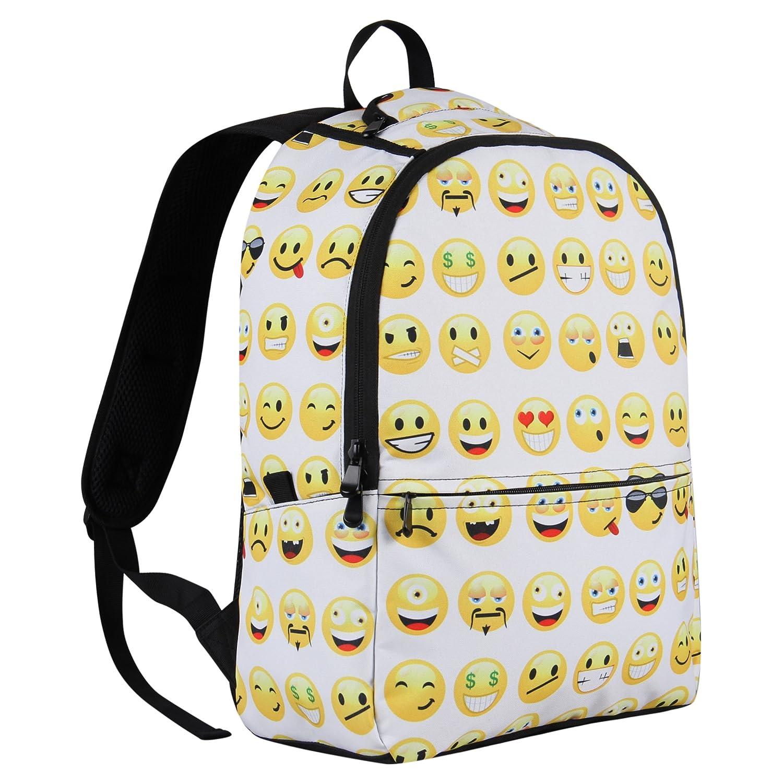 Emoji Backpack School Satchel Emoji Source · Amazon com Hynes Eagle Printed  Emoji Kids School Backpack Emoji 9ddbba96a5b14