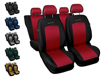 Seat Ibiza Rot Universal Sitzbezüge Sitzbezug Auto Schonbezüge PROFI