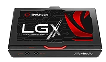 AVerMedia Live Gamer Extreme (LGX) - Capturadora USB3.0 1080p60fps para Xbox 360/Xbox One/PS3/PS4 y WiiU