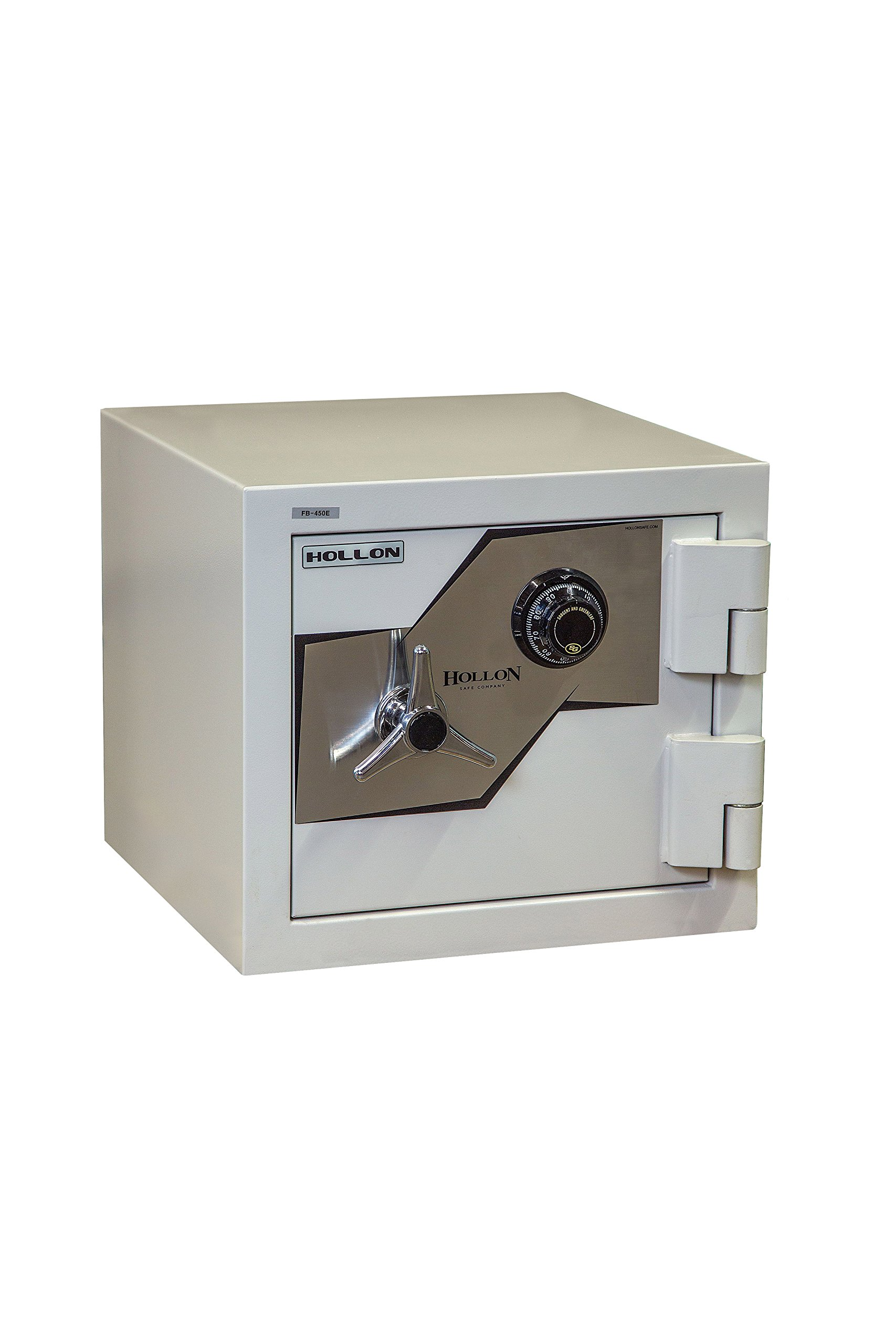 Hollon Safe FB-450C Oyster Series B-Rated 2 Hr Fireproof Security Safe Size: 1.23 Cu.Ft., Lock Type: Dial Combination Lock