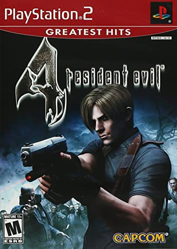 Capcom Resident Evil 4 Ps2 Esp Playstation 2 Espanol Video Juego