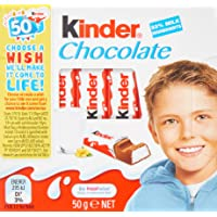 Kinder Little Ones Milk Chocolate Bars, 20 x 50 Grams