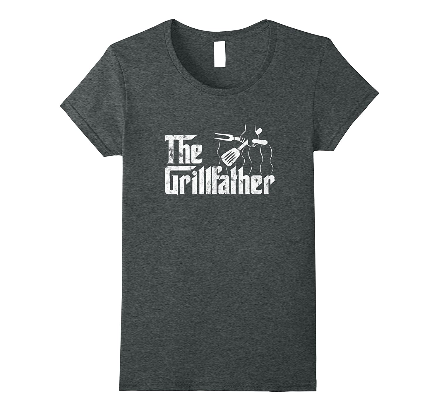 Grillfather Vintage Grill Barbecue T Shirt-Veotee