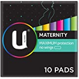 U by Kotex Maxi's Maternity Pads Non Wings,  Pack of 10