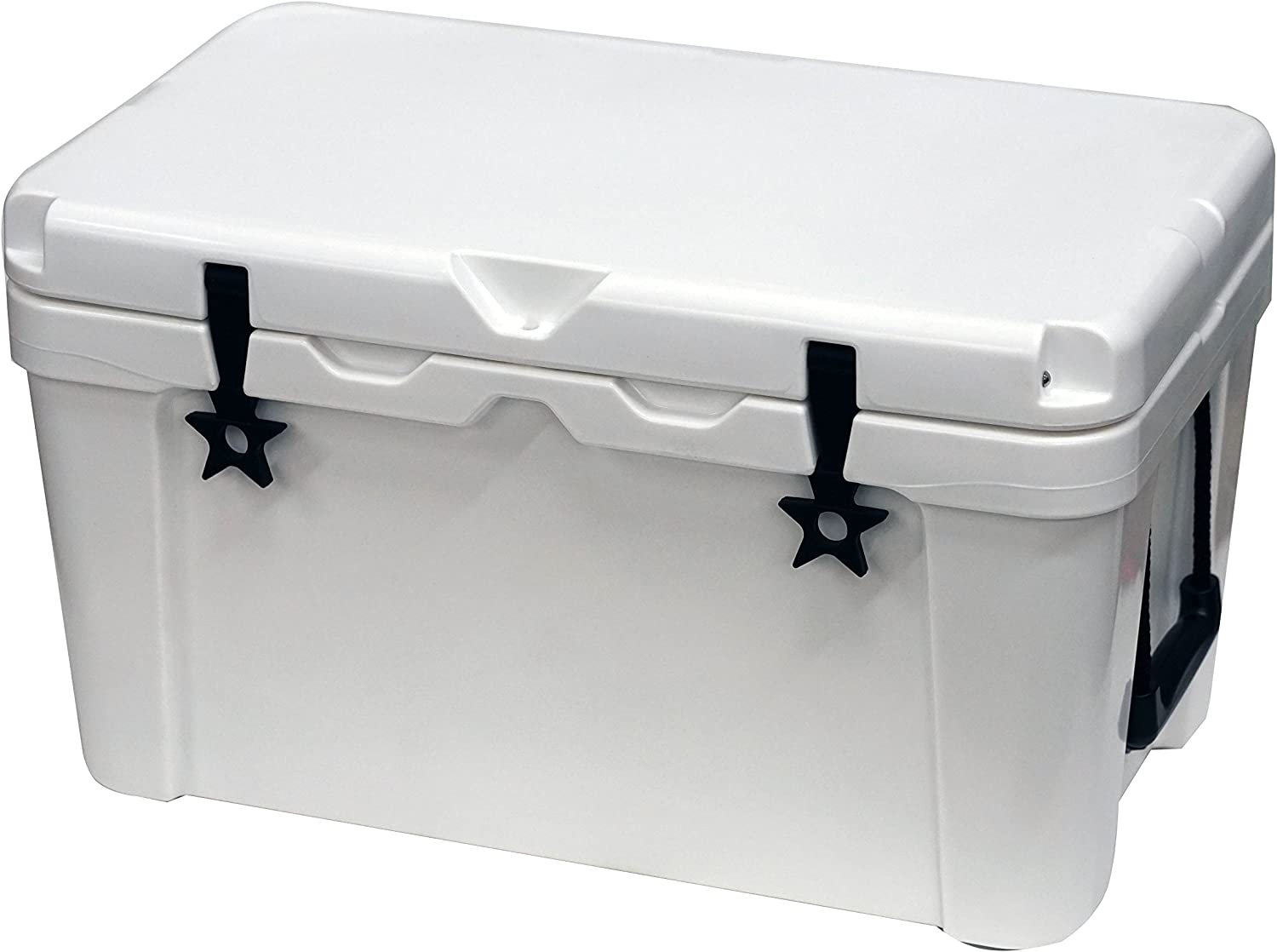 Outbound 20, 45, and 75 Quart Models - Durable & Stylish Rotomolded Coolers, Vacuum Release Valve, and Lo Profile Latching System (45 Quart)