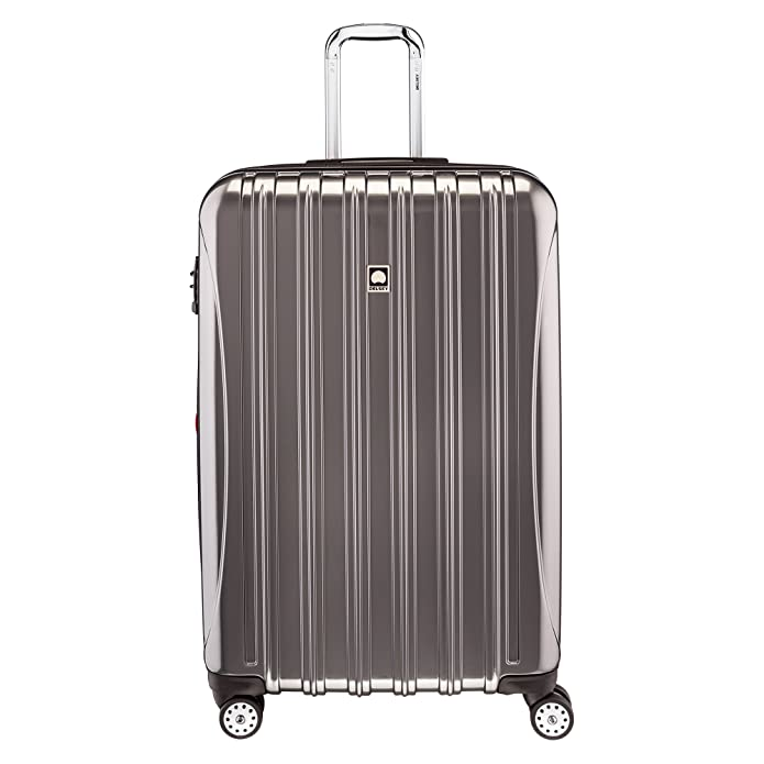 "DELSEY Paris Aero 29"" Expandable Spinner Upright Suitcase - Platinum"