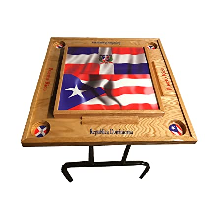Amazon Com Puerto Rico Dominican Republic Domino Table