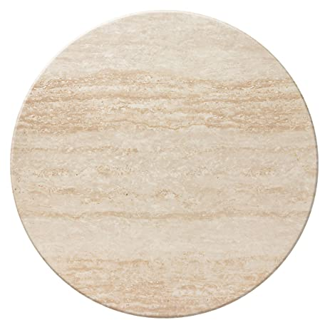 Duratop 42u0027u0027 Round Table Top In Travertine