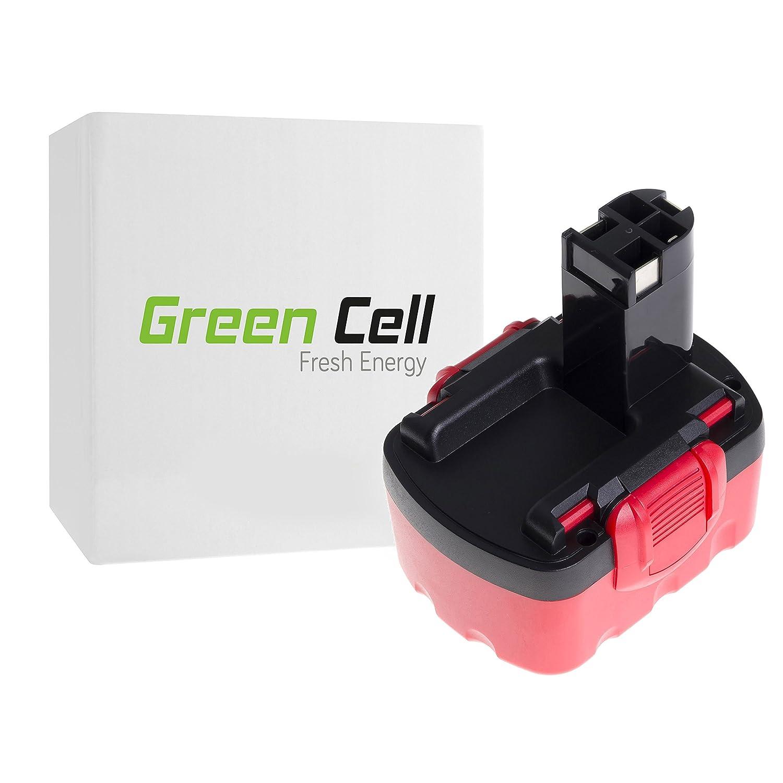 verde Cell® 2607335173 Utensili Elettrici Batteria per Bosch (Ni-MH pile 3000mAh 14.4V)