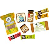 Boxes of Joy The Wellness Box Diwali Gift Packs-Handpicked Nuts and Dried Fruits, Super-Food Snacks and Protein Bars, Muesli, Pasta, Healthy Flours, Teas