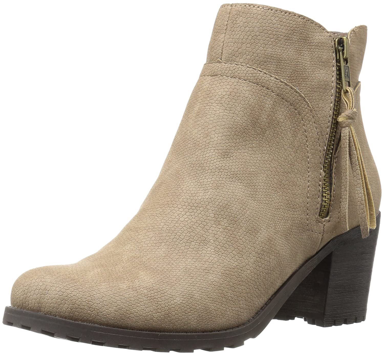 Aerosoles Women's Convincing Boot B005ADW7HG 10 W US|Taupe Snake