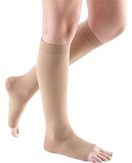 84b2d7bb5c55a0 mediven Comfort, 20-30 mmHg, Calf High Compression Stockings, Open Toe