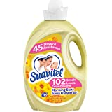 Suavitel Fabric Softener, Morning Sun, 135 Fluid Ounce