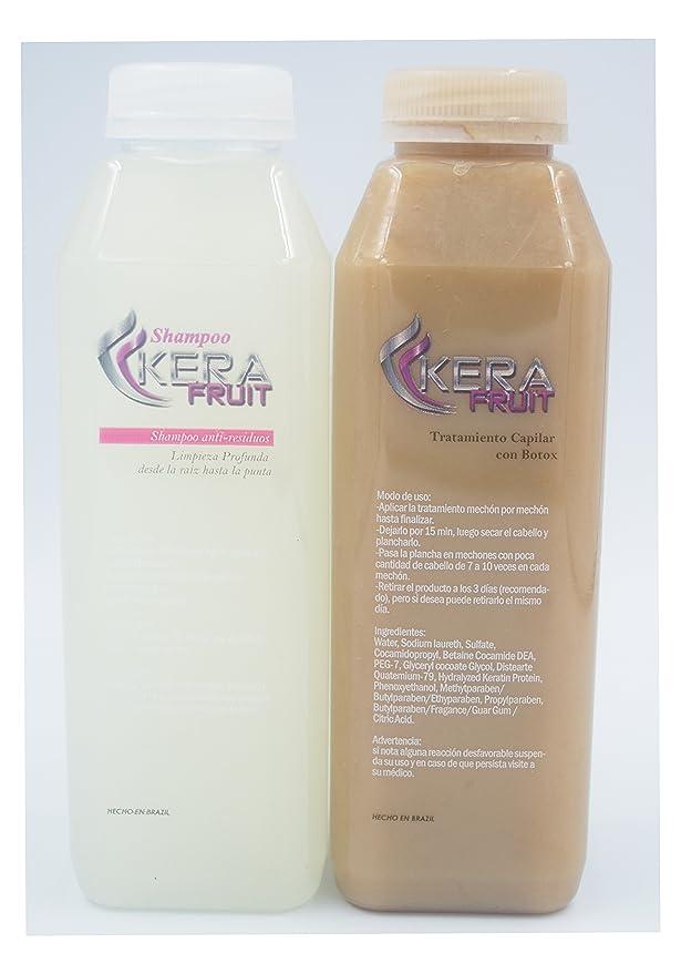 Amazon.com: Keratina De Chocolate Con Botox Hair Treatment Brazilian 16 oz + Shampoo Usa Seller Fast Shipping: Everything Else