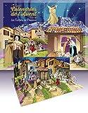 Grand calendrier de l'Avent pop-up des Santons de Provence: Avec son livret d'accompagnement