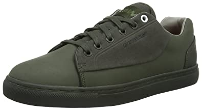 G-Star Raw Grount, Zapatillas para Hombre, Verde (Combat), 46 EU