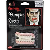 Vampire Dracula Fangs Teeth Horror Halloween Adults Kids Scary Monster Canines SFX Make up Fake Teeth Set Accessory