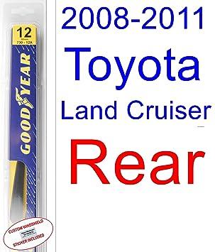 2008 - 2011 Toyota Land Cruiser hoja de limpiaparabrisas de repuesto Set/Kit (Goodyear limpiaparabrisas blades-hybrid) (2009,2010): Amazon.es: Coche y moto