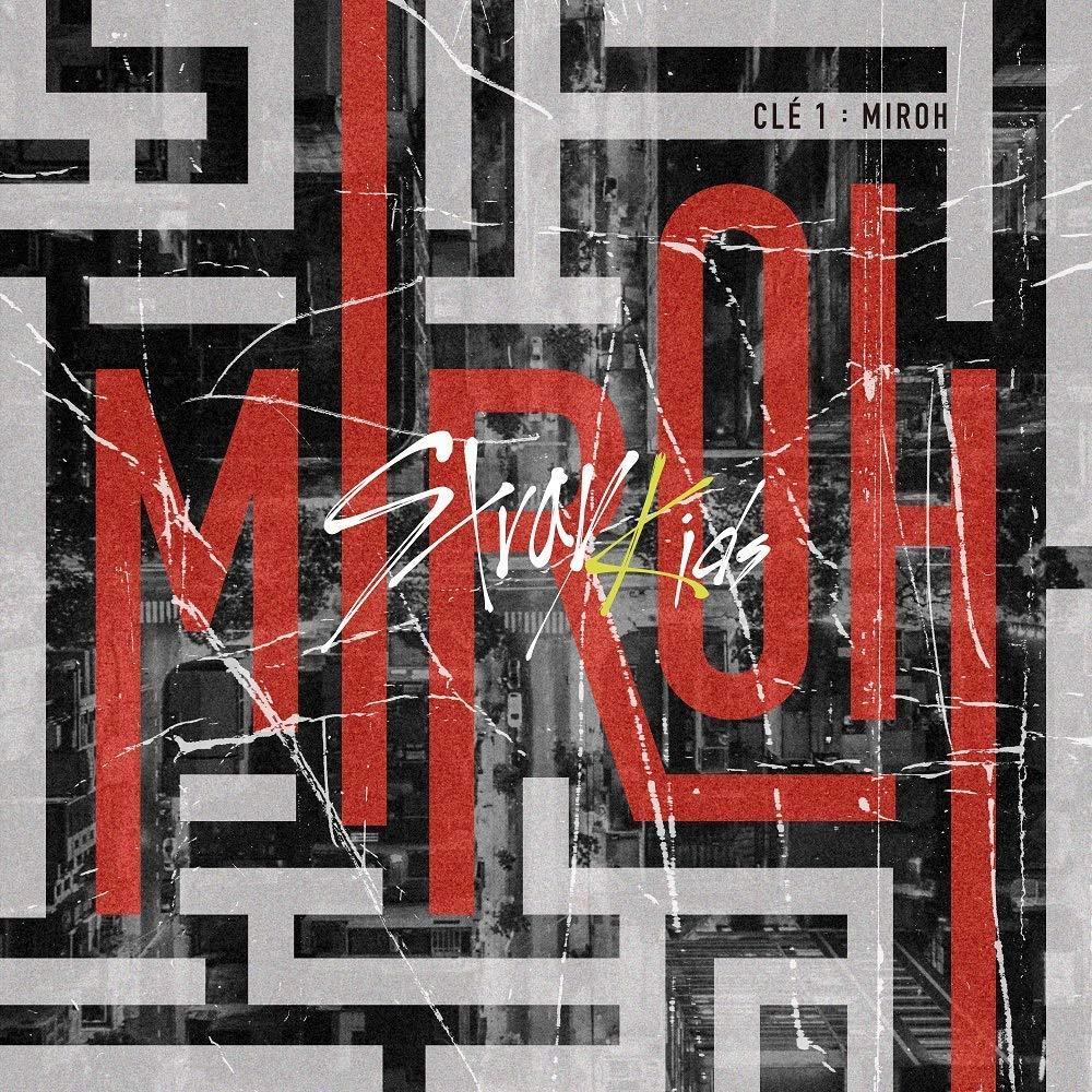 K-POP Stray Kids - 4th Mini Album [Clé 1 : MIROH] (Clé 1 version) Music CD  + QR Photocards + Photobook + Pre-Order Benefit + Folded Poster + Extra