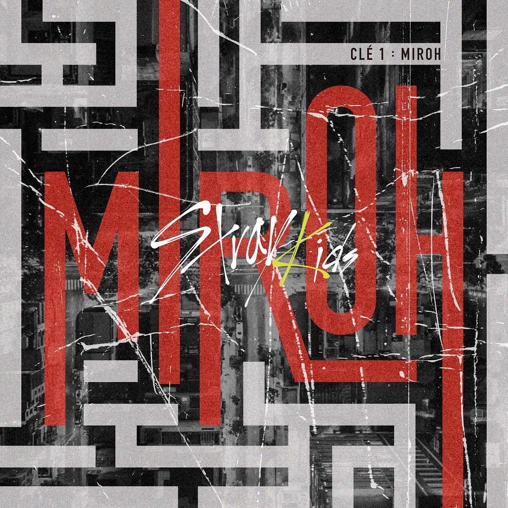 K-POP Stray Kids - 4th Mini Album [Clé 1 : MIROH] (Clé 1 + MIROH, all versions SET) Music CD + QR Photocards + Photobook + Pre-Order Benefit + Folded Poster + Extra Photocards Set