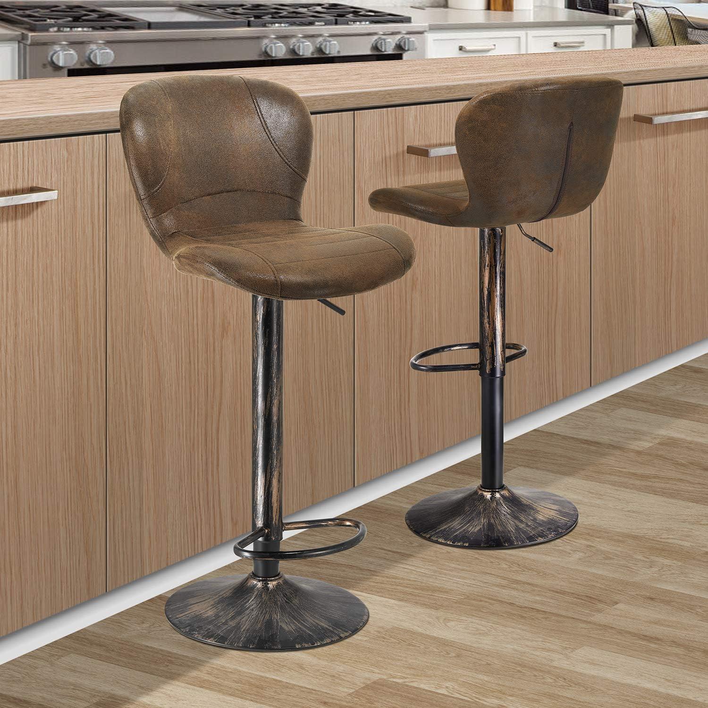 Restaurant Bar Stools Swivel Bar Stools Set of 9 Bar Chairs ...