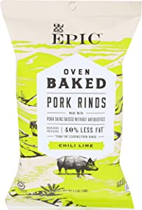 EPIC PROVISIONS Oven Baked Chile Lime Pork Rinds, 2.5 OZ