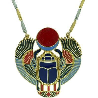 Amazon egyptian jewelry bronze scarab beetle pendant with chain egyptian jewelry bronze scarab beetle pendant with chain aloadofball Choice Image