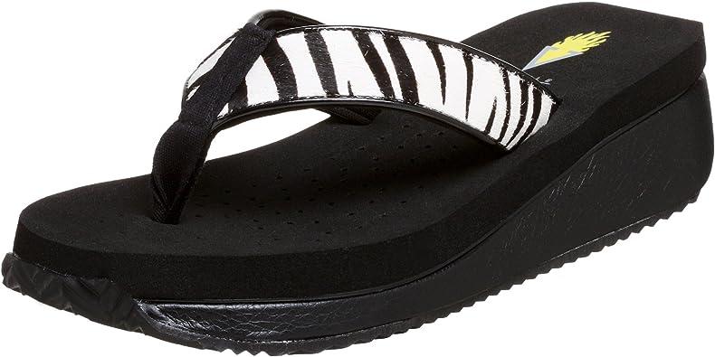 volatile leopard sandals