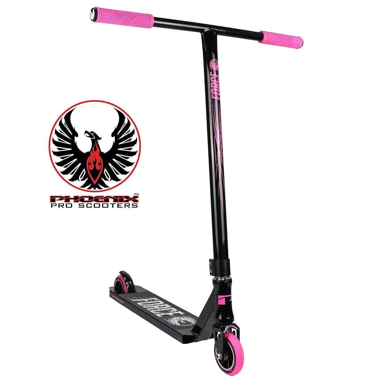 Phoenix Force Pro Scooter (Black/Neon Pink) Phoenix Pro Scooters
