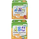 LeapFrog LeapStart Level 1 Preschool Activity Book Bundle with Alphabet Adventures, Shapes and Colors