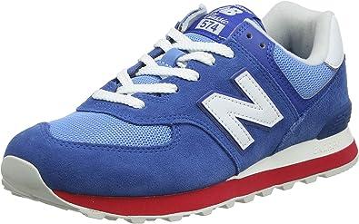 Cosquillas erupción Comercial  Amazon.com | New Balance Men's FTWR Blue | Shoes