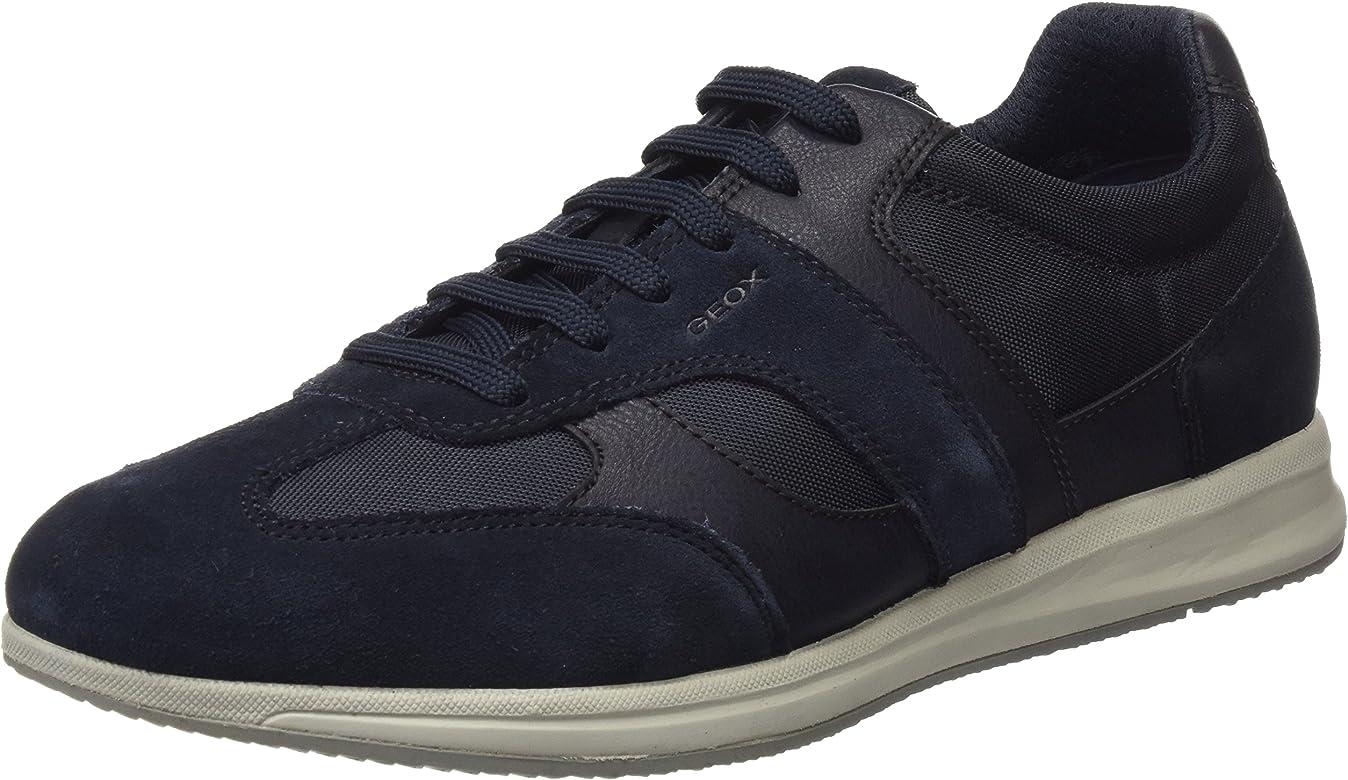 Geox U Avery A, Zapatillas para Hombre, Azul (Navy), 40 EU: Amazon.es: Zapatos y complementos