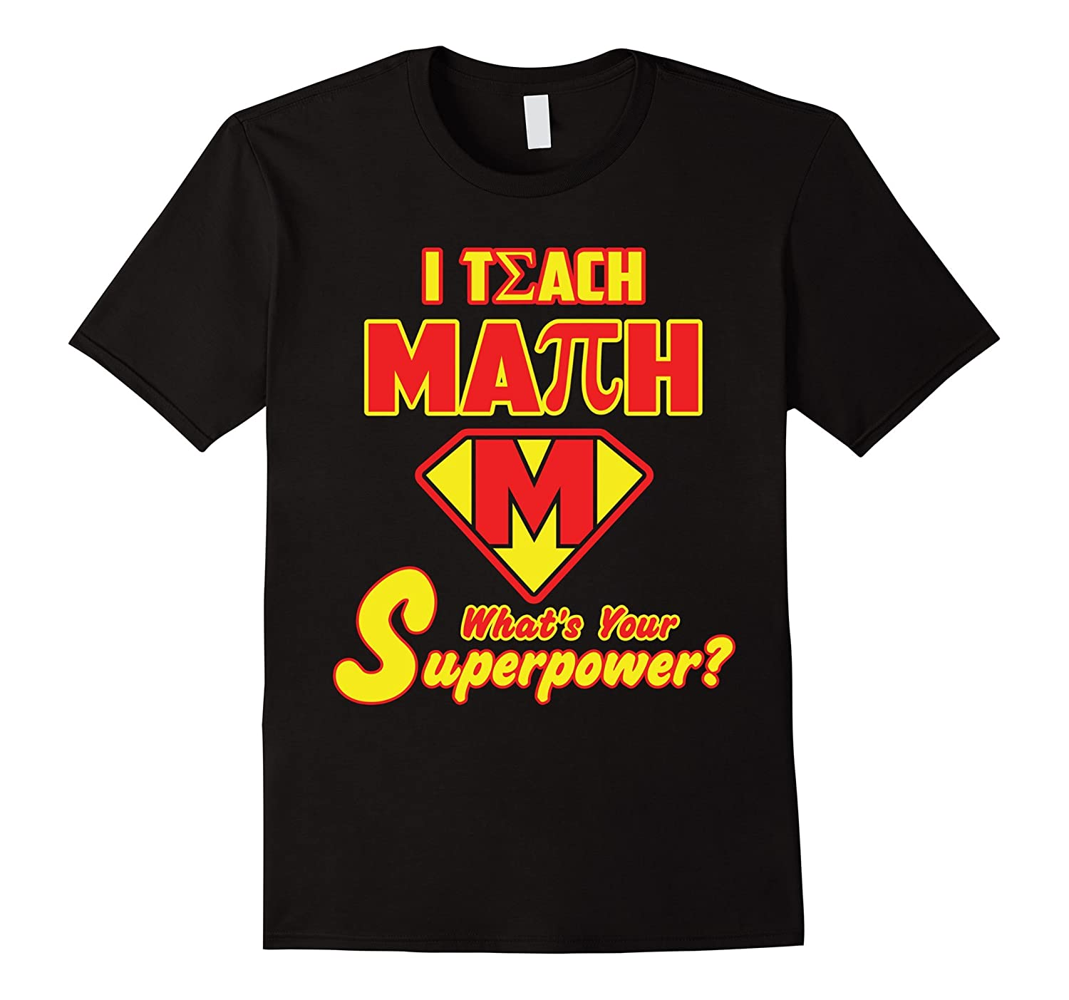 2 Sided Superhero I Teach Math Whats Your Superpower?-RT