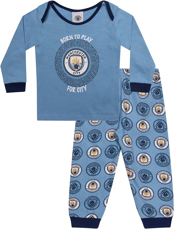 Manchester City FC Officiel Pyjama Long th/ème Football Homme