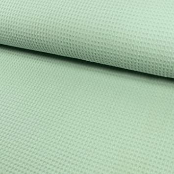 Baumwolle  Waffelpique Handtuch Bademantel Stoff alle Farben