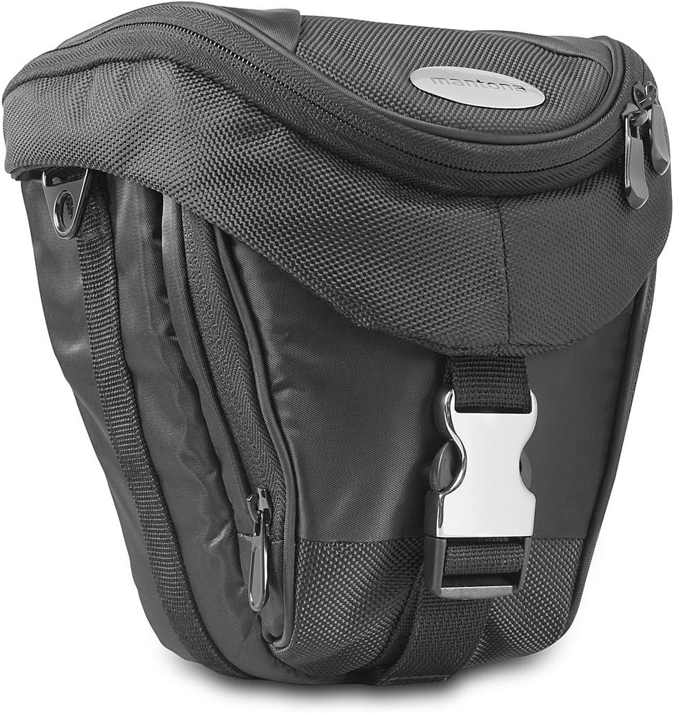Bolsa Universal incl. acceso rápido, Protector de polvo, C Bolsa de Cámara SLR Mantona Colt