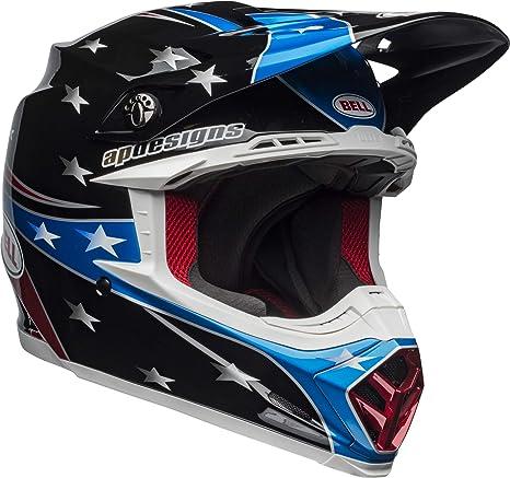 59334c8c2cfa5 Bell Moto-9 MIPS Off-Road Motorcycle Helmet (Tomac Replica 19 Eagle Gloss  Red/Blue/Black, Large)