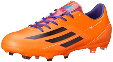 sports shoes 99269 80acd adidas Performance Men s F10 TRX Firm-Ground Soccer Cleat, Solar Zest Black