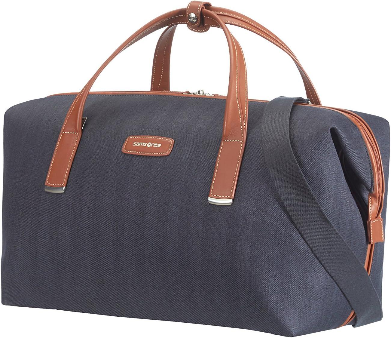 Samsonite Lite DLX 55/22 Bolsa de Viaje, 46 litros, Color Azul
