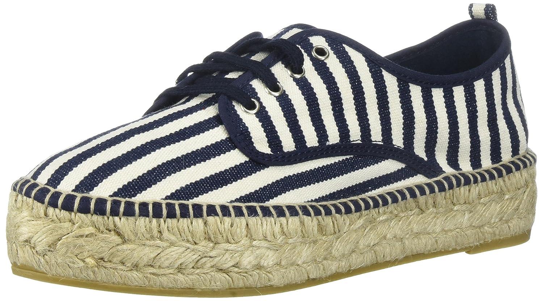 Loeffler Randall Women's Alfie (Woven Textile Sneaker B0721TN8DB 11 B(M) US|White/Eclipse Stripe