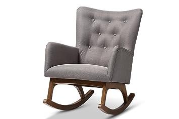 Fine Baxton Studio 424 7850 Amz Shelby Rocking Chair Grey Bralicious Painted Fabric Chair Ideas Braliciousco