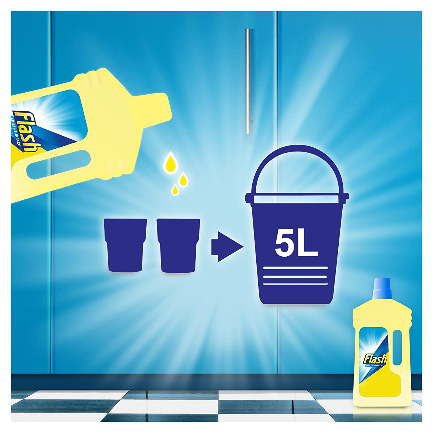 Flash All Purpose Liquid Cleaner Relaxing Lavender 1 Litre 6 Packs Dettol Antiseptic 500 Ml 2 Pcs Health Personal Care