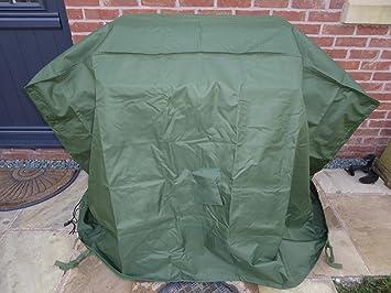 Impermeable grande resistente - cubierta para barbacoa - resistente al agua fundas protectoras para barbacoa - 5 años de garantía: Amazon.es: Jardín