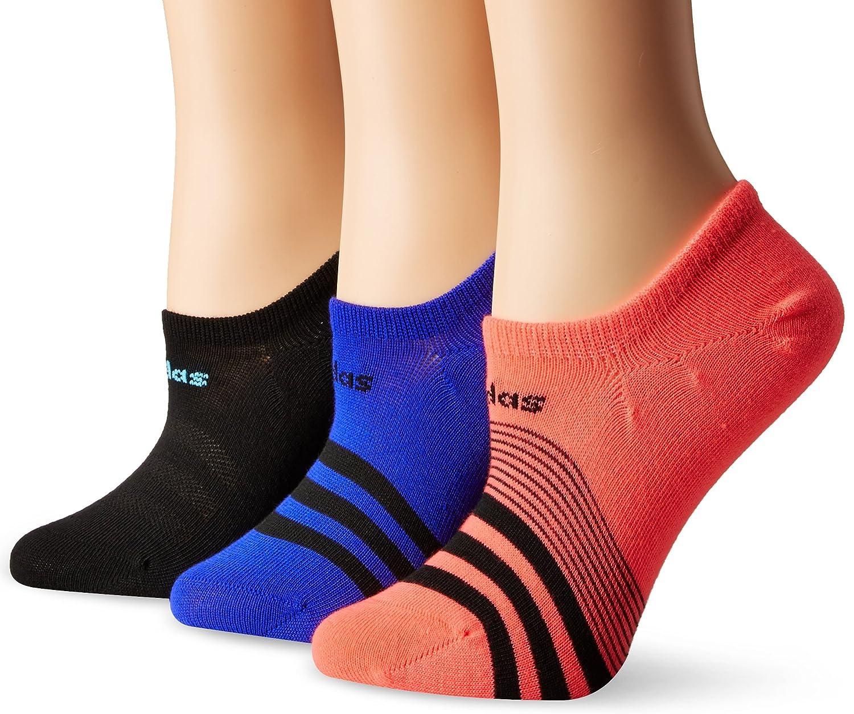 adidas Women's Superlite Super No Show Socks (3-Pack) Agron Socks 233991
