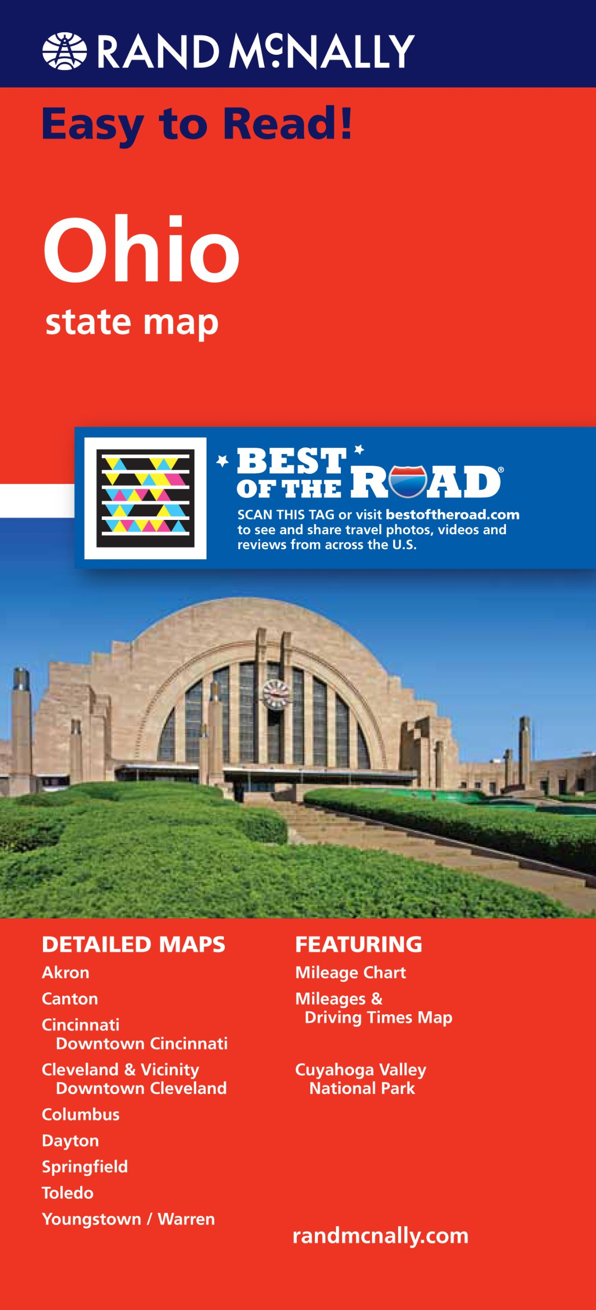 Rand McNally Easy Read State