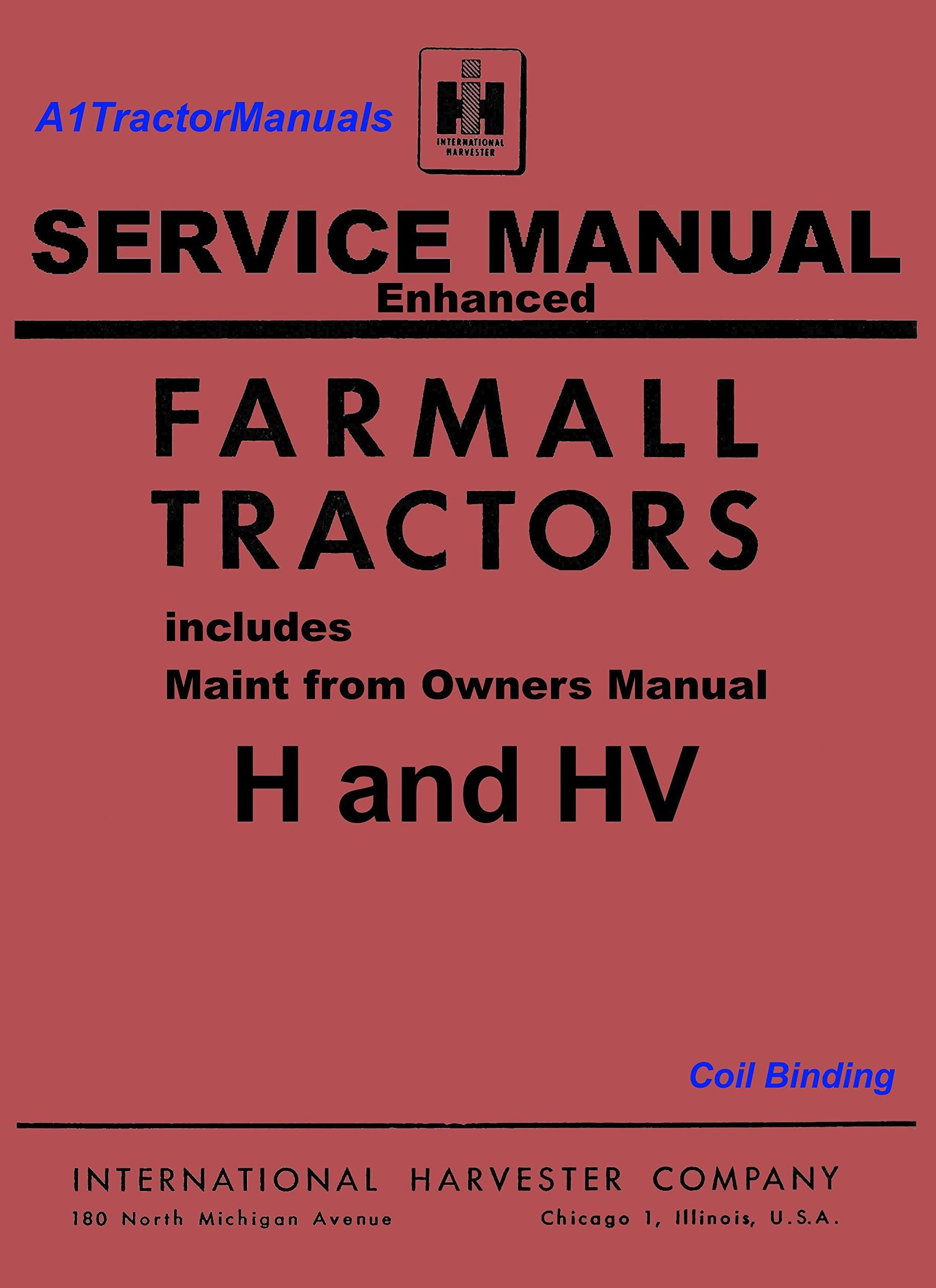 Enhanced Farmall H Service Manual: Manuals&Such: 0763616419924: Amazon.com:  Books