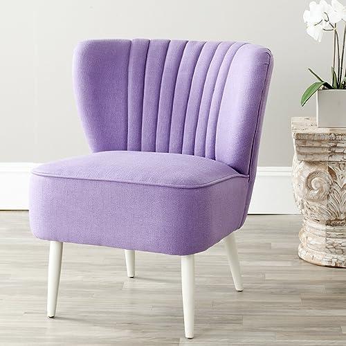 Safavieh Mercer Collection Waverly Mid-Century Purple Accent Chair